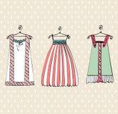 Mooie kleren Royalty-vrije Stock Afbeeldingen