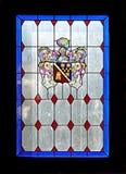 Mooie kleuren van een gebrandschilderd glasvenster Royalty-vrije Stock Afbeeldingen