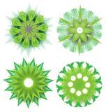 Mooie kleurrijke abstracte bloemelementen Royalty-vrije Stock Foto's