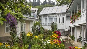 Mooie Kleurrijke Huizen, Moldava royalty-vrije stock foto
