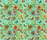 Mooie kleurrijke natuurlijke naadloze achtergrond Royalty-vrije Stock Foto's