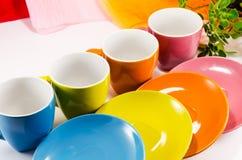 Mooie kleurrijke waren Stock Foto's