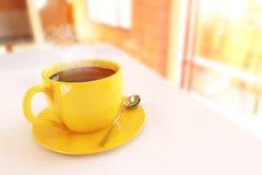 Mooie koffiekop stock afbeeldingen
