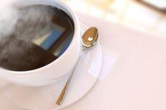 Mooie koffiekop stock fotografie