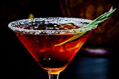 Mooie koude cocktail Stock Afbeelding