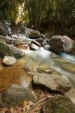 Mooie Krathing-waterval in Nationaal Park, Thailand Stock Foto