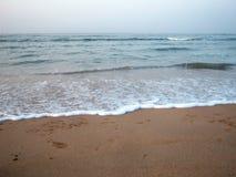 Mooie kust in Diu Stock Afbeeldingen