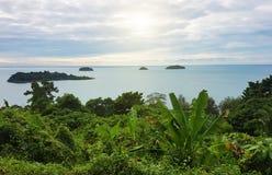 mooie kust in Thailand royalty-vrije stock fotografie