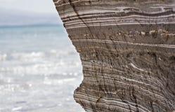 Mooie kust van het Dode Overzees Royalty-vrije Stock Foto