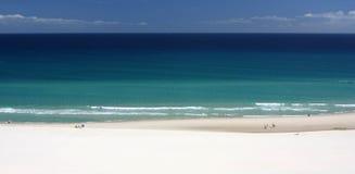 Mooie kustlijn stock foto
