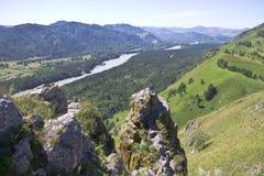 Mooie landschappen van Siberië royalty-vrije stock fotografie