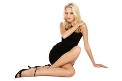 Mooie lange benen Stock Fotografie