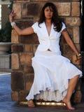 Mooie Latijnse Vrouw Royalty-vrije Stock Afbeelding