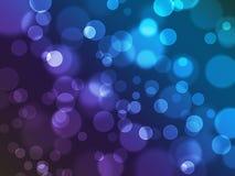 Mooie lichten summiere achtergronden Royalty-vrije Stock Afbeeldingen