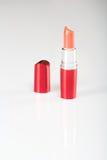 Mooie lippenstift op wit Stock Fotografie