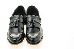 Mooie luxe en de toevallige schoenen van leermensen Royalty-vrije Stock Foto