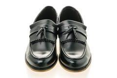 Mooie luxe en de toevallige schoenen van leermensen Royalty-vrije Stock Afbeelding