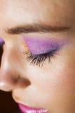 Mooie make-up royalty-vrije stock fotografie