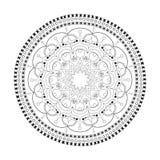 Mooie Mandala Royalty-vrije Stock Afbeeldingen