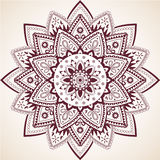 Mooie Mandala Decor Vector Element Stock Afbeelding