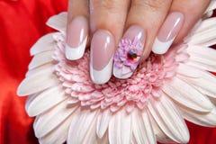Mooie manicure Royalty-vrije Stock Foto's