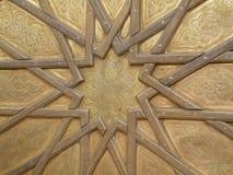 Mooie Marokkaanse Details van de Royal Palace-Messingsdeur in Fez, Marokko Royalty-vrije Stock Foto's