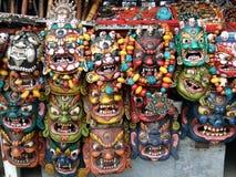 Mooie maskers Stock Foto