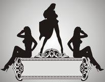 Mooie Meisjes Stock Afbeelding