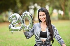 Mooie Meisjes 20 Gelukkige vrouwen van de Meisjespret Stock Foto's