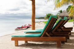 Mooie mening over Caraïbische overzees Royalty-vrije Stock Afbeelding