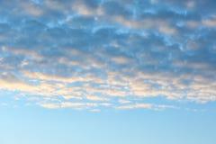 Mooie mening van blauwe hemel Royalty-vrije Stock Foto's