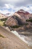 Mooie mening van de bergen van Pamir Stock Fotografie