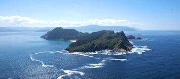 Mooie mening van de CÃes-eilanden Stock Fotografie