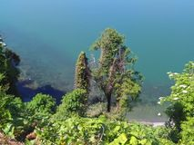 Mooie mening van de overzeese lagune Royalty-vrije Stock Fotografie