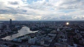 Mooie mening van de stad van Odessa stock foto