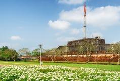 Mooie mening van de Vlagtoren van de Citadel, Tint stock fotografie