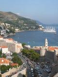 Mooie mening van Dubrovnik royalty-vrije stock foto's