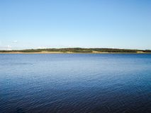 Mooie mening van een rivier in Argentinië Stock Afbeelding