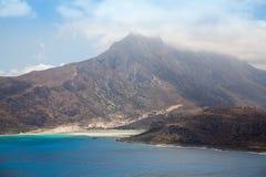 Mooie mening van Gramvousa-eiland Stock Fotografie