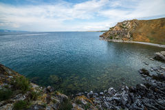 Mooie mening van het Olkhon-eiland Stock Fotografie