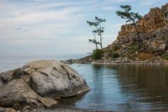 Mooie mening van het Olkhon-eiland Royalty-vrije Stock Afbeelding