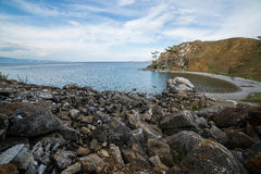 Mooie mening van het Olkhon-eiland Royalty-vrije Stock Foto