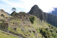 Mooie mening van Machupichu, Cuzco royalty-vrije stock foto