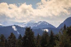 Mooie mening van Rila-Berg, Bulgarije, Europa stock fotografie