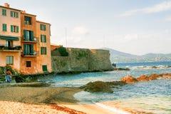 Mooie mening van Saint Tropez Stock Foto's
