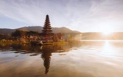Mooie meningen van Bali in de ochtend Stock Afbeeldingen
