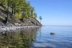 Mooie meningen van het meer Baikal Stock Foto's