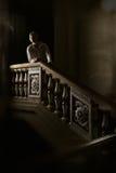 Mooie mens in de kleding van de 18de eeuw royalty-vrije stock fotografie
