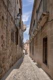 Mooie middeleeuwse stad van Caceres in Extremadura Stock Foto