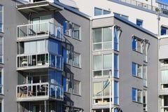 Mooie moderne flats in Zweden Royalty-vrije Stock Afbeelding